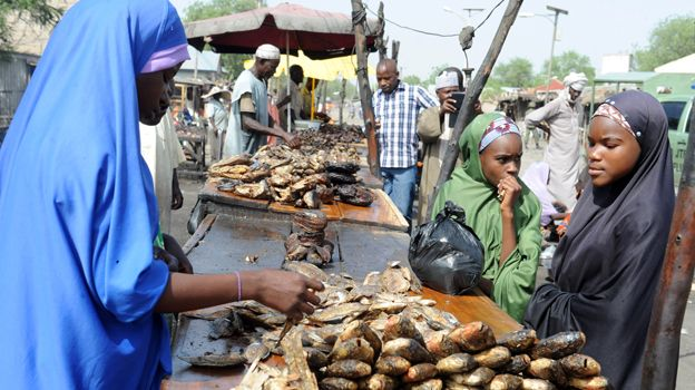 nigeria fish vendor g