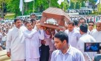 President last respects to veteran artiste, Dr. Pandith W.D. Amaradewa