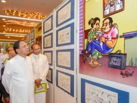 Camillus Perera's Cartoon Art Exhibition