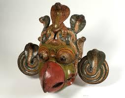 Wooden Masks in Sri Lanka