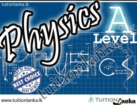 2016/2017 A/L Physics @ Embilipitiya