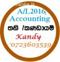 Accounting for A/L@Kandy