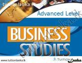 A/L Business Studies @ Sesisra Institute, Piliyandala