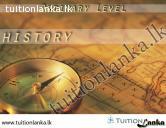 Grade 10 History Subject @ Sathra Institute, Ratnapura