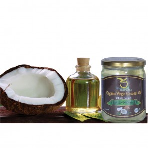 Organic Whole Kernel Virgin Coconut Oil