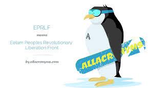 Eelam People's Revolutionary Liberation Front