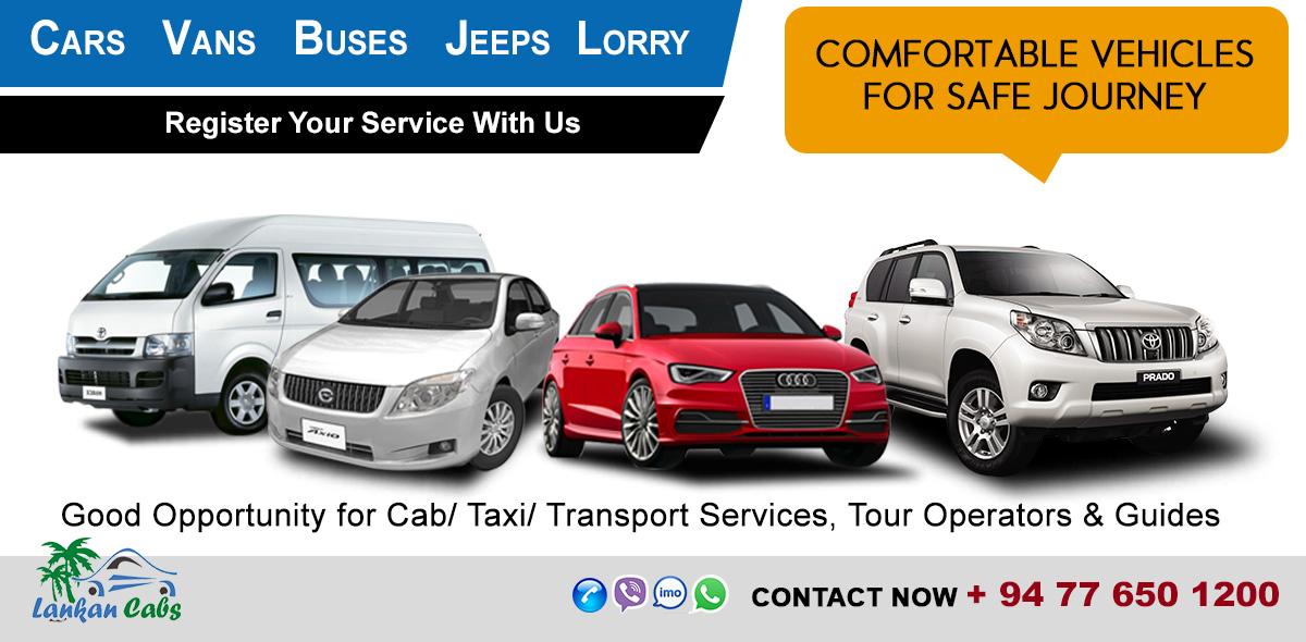 www.lankancabs.lk - Leading Cab Service Web Portal in Sri Lanka