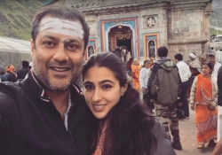 Sara Ali Khan joins Abhishek Kapoor for the recce of her debut film