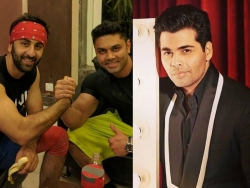 Karan Johar on a weight loss mission, gets help from Ranbir Kapoor's trainer
