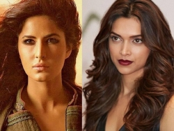 Katrina Kaif quashes rumours of ousting Deepika Padukone from Shah Rukh Khan's film