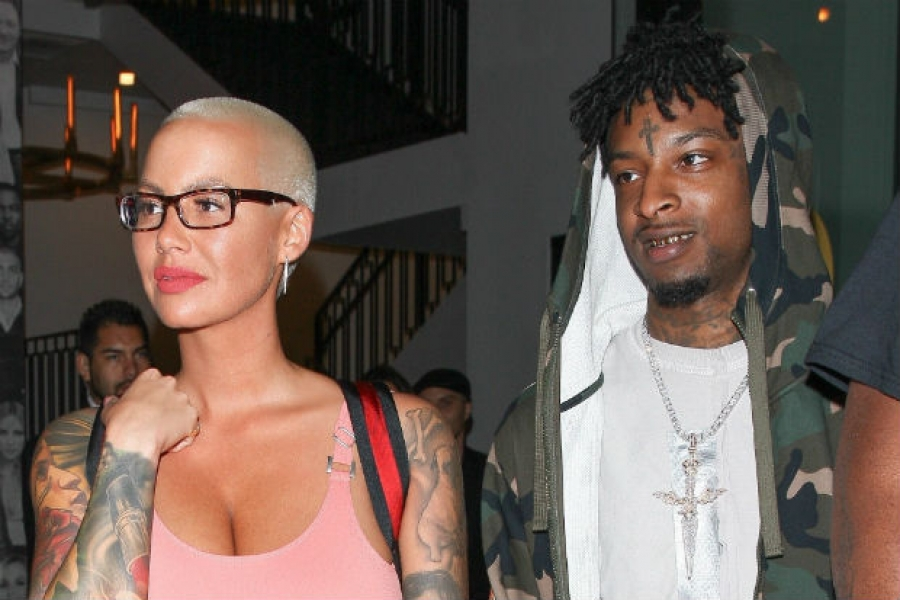 Here's Proof Amber Rose Is Getting Serious with 21 Savage