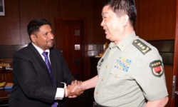 China vows unconditional support to Lanka