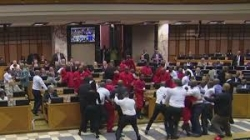 South Africa's EFF MPs expelled for heckling Jacob Zuma