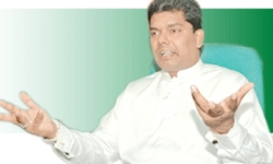 Gayantha says heavy responsibility as Lands and Parliamentary Reforms Ministrer