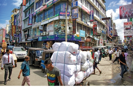 Pettah: chaotic But booming