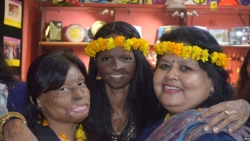 In India, Cafe Run by Acid Attack Survivors Celebrates Second Anniversary