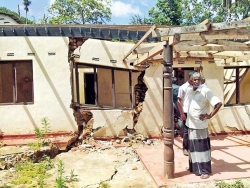 Temples damaged in Uma Oya Project