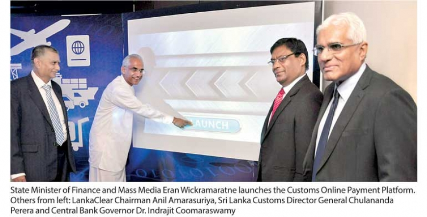 Customs creates history by launching online payment platform