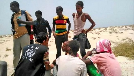 Teenage migrants 'deliberately drowned' by smugglers in Yemen