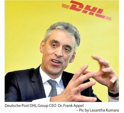 Deutsche Post DHL Group optimistic of Sri Lanka; to expand with growth