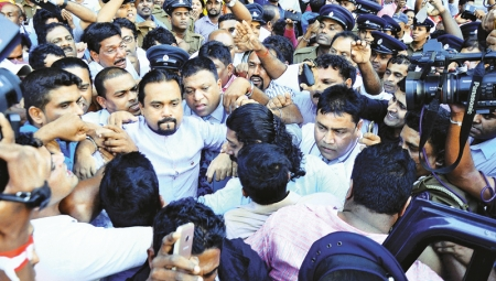 Wimal predicts his arrest, remanded till 24 January