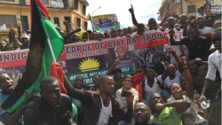 Nigeria army 'killed Biafra protesters'