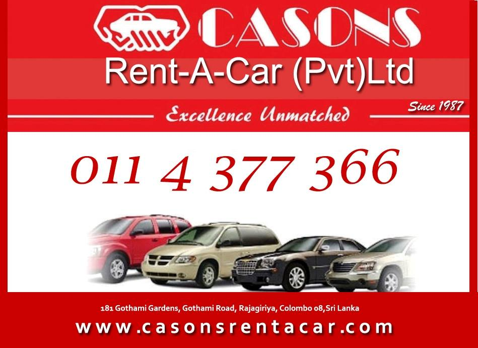 Casons Rent A Car Pvt Ltd
