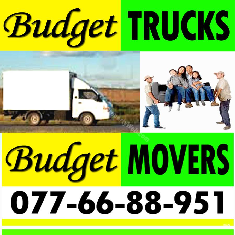 Budget TRUCKS & MOVERS