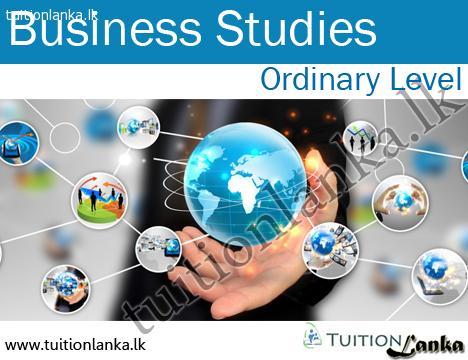 2015/2016 A/L Business Studies @ Samadhi, Eheliyagoda