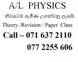 Physics Theory, revision and paper class