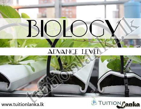 A/L Biology (Cambriddge Edexcel) @ Gampaha