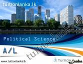 2015 A/L Political Science Theory @ Vision, Badulla
