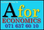 Economics Individual & Group Classes