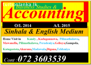 Accounting for A/L in Kandy