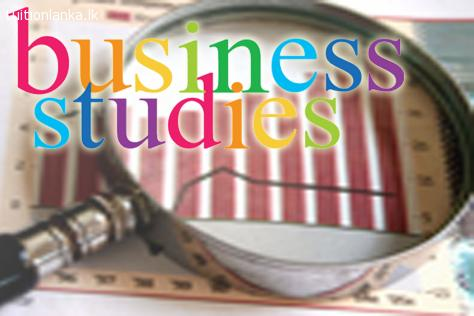 A/L Business Studies - English Medium @ Kandy