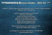 2015 A/L Business Studies Revision @ Kiribathgoda