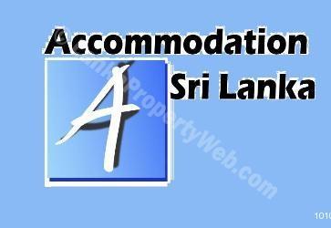 Accommodation Sri Lanka