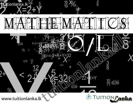 2015 O/L Maths @ Colombo 7