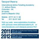 Travel Agency and Airline Courses @ Colombo 04
