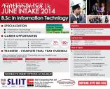B.Sc. in Information Technology @ SLIIT Malabe