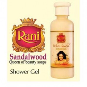 Rani-White Sandal Shower Gel