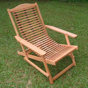 Slatted Deck Chair