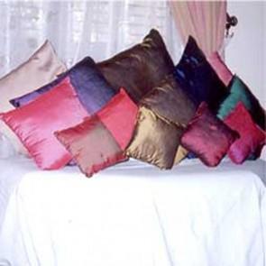 50% Silk & 50% Cotton Cushion Cover