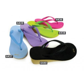 Ladies High Wedge Flip Flops