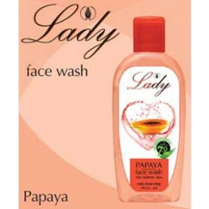Lady Face Wash - Papaya