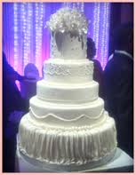 Suven's Cake Structure & Flower Decor
