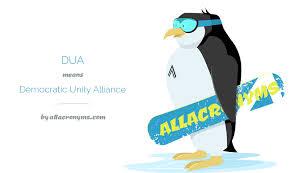 Democratic Unity Alliance