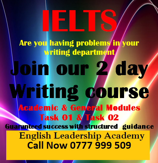 IELTS Classes In Colombo