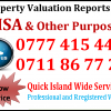 Incorporated Valuer - S.P. Waduge 0777 415 440 / 0711 86 77 21
