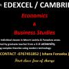 Group classes for Business Studies, Economics for Edexcel & Cambridge